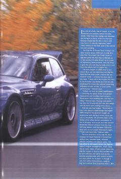 preparacion BMW Z-3 M