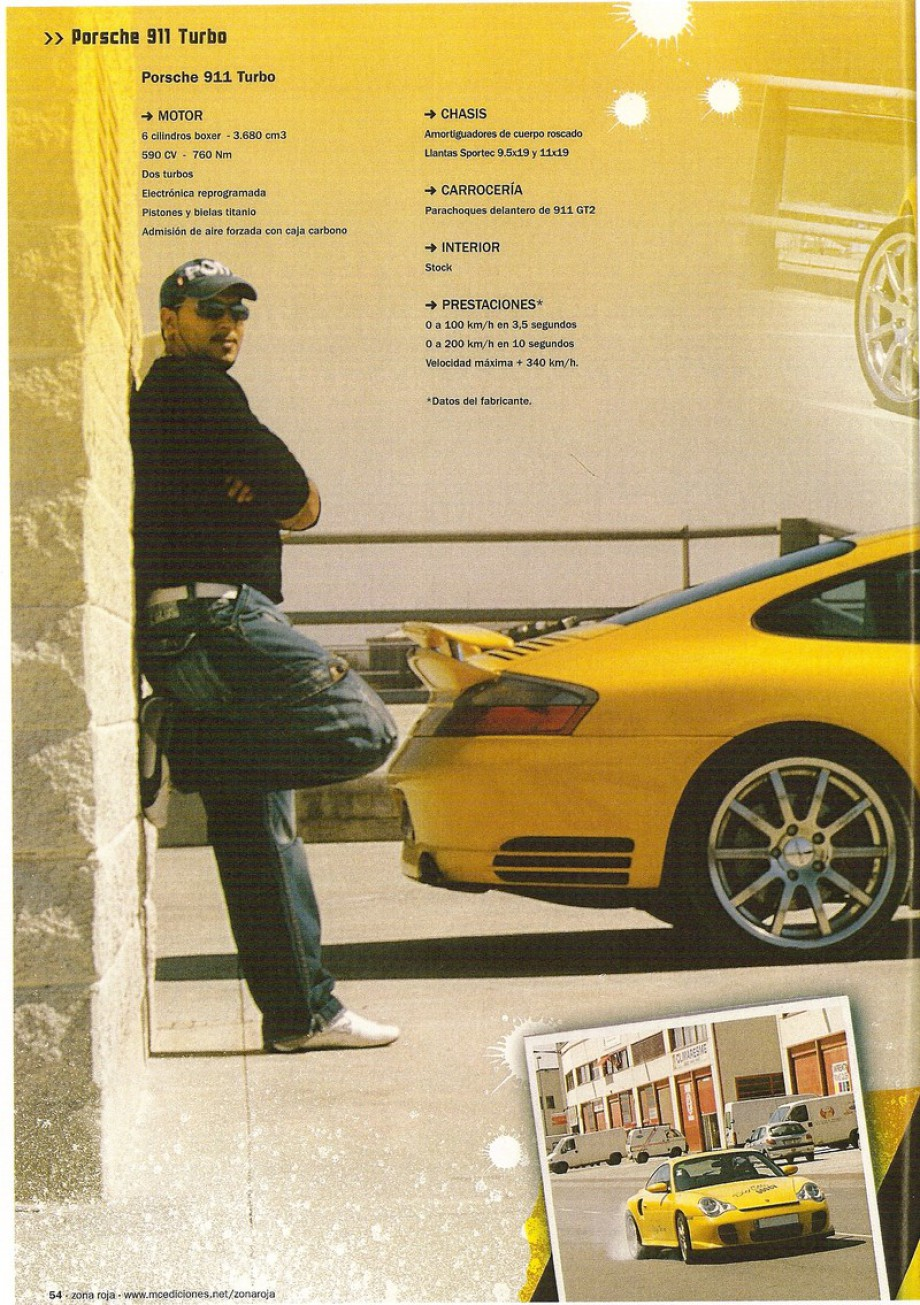 preparacion porsche 996 turbo