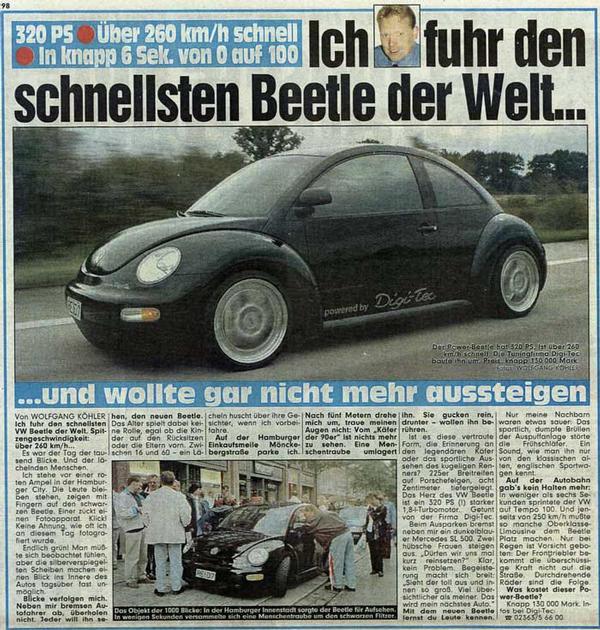 reprogramcion volkswagen beetle