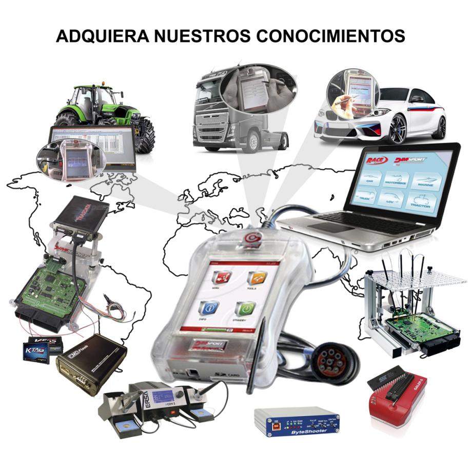 empresa franquicia venta reprogramaciones centralitas chip de potencia