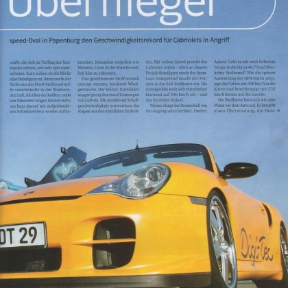 Reportaje Porsche 996 Turbo Digi-Tec