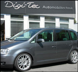 TUNING VW TOURAN DIGI TEC