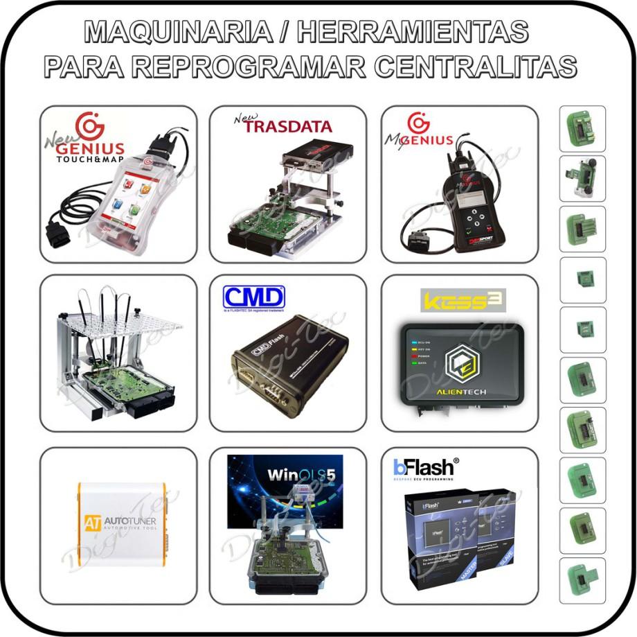 PRECIOS MAQUINAS PARA HACER REPROGRAMACIONES CENTRALITAS