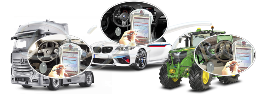 venta aparato consola New Genius dimsport para automovil camion tractor